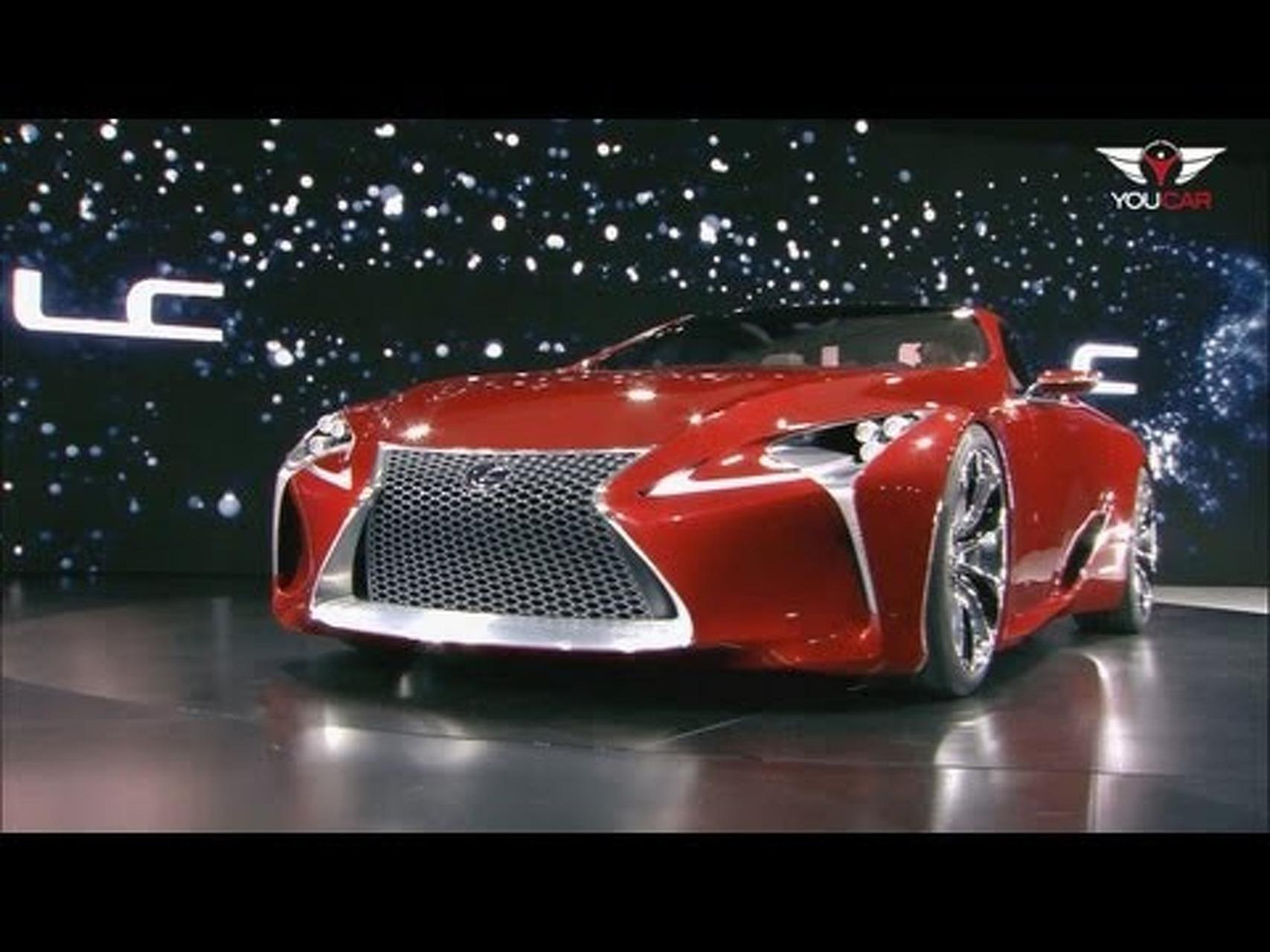 Lexus LF-LC Concept at 2012 NAIAS