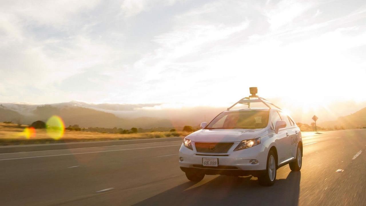 Google's driverless Lexus RX 450h