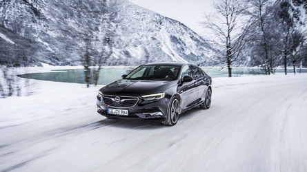 2017 Opel Insignia Grand Sport with AWD