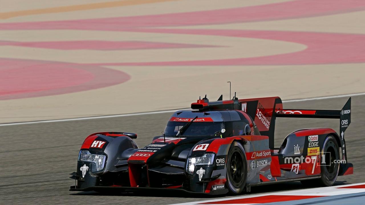 #7 Audi Sport Team Joest Audi R18- Marcel Fässler, Andre Lotterer, Benoit Tréluyer