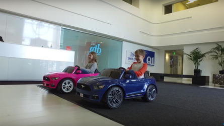 New Power Wheels Ford Mustang has traction control, rollover detection
