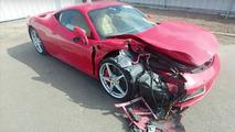 VIDÉO - Il crashe sa Ferrari 458 Italia de location