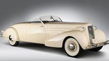 1934 Cadillac rumbleseat roadster model 5802