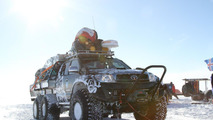 Toyota Hilux sets Antarctica distance record running on jet fuel