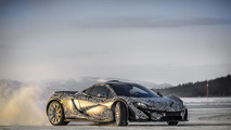 McLaren P1 winter testing photo 30.4.2013