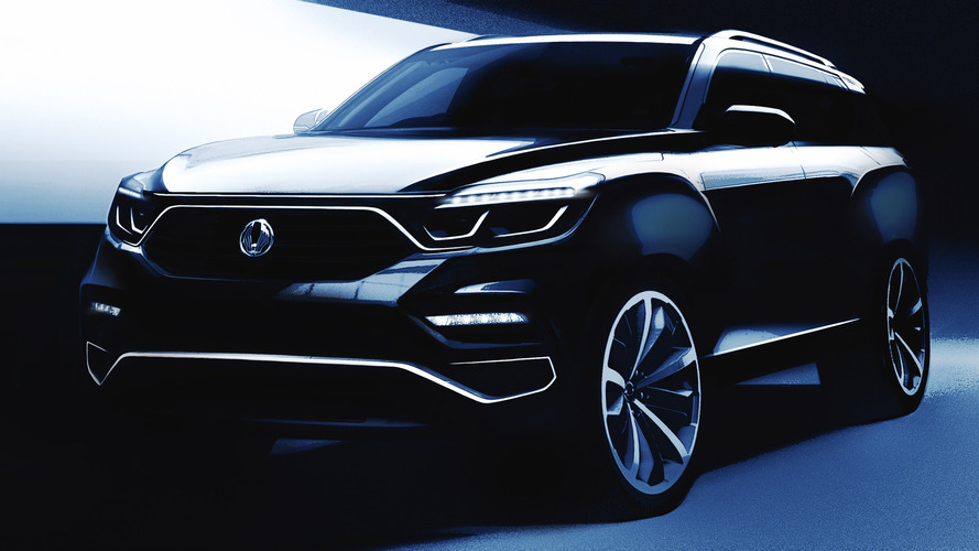 2018 SsangYong Rexton Teaser Sketches Look Promising