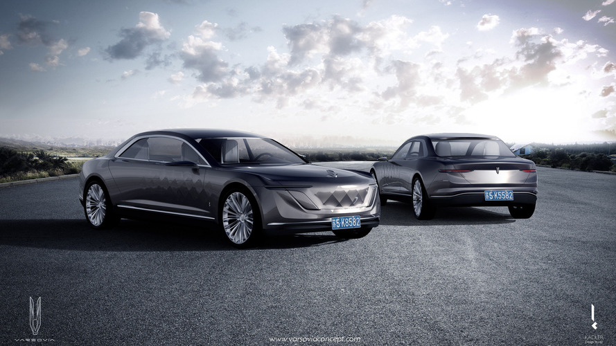 The Varsovia Concept could be the first mermaid-inspired luxury sedan