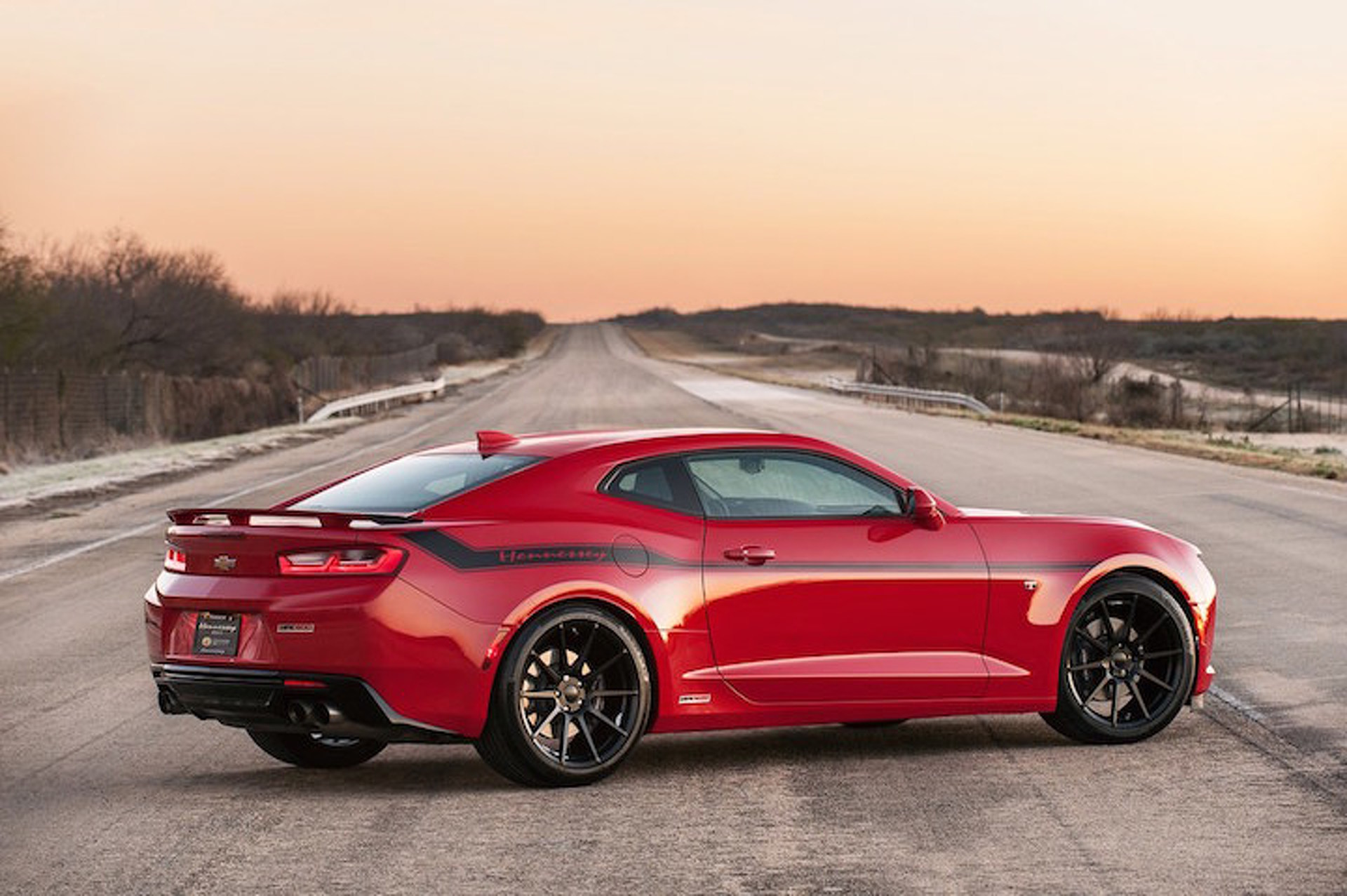 Hennessey Just Blasted the 2016 Camaro Up to 202 MPH
