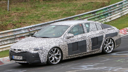 2017 Opel Insignia spy photos