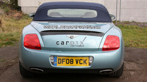Bentley Continental GTC Speed Spied Inside & Out Completely Undisguised