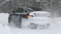 Porsche 991 Latest Winter Test Spy Photos - Rear LEDs in View