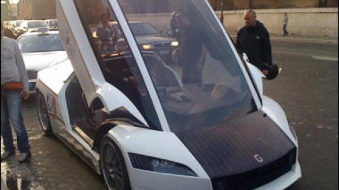 Giugiaro Quaranta concept taxi