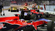 Lucas di Grassi (BRA), Virgin Racing - Formula 1 World Championship, Rd 15, Singapore Grand Prix, 25.09.2010