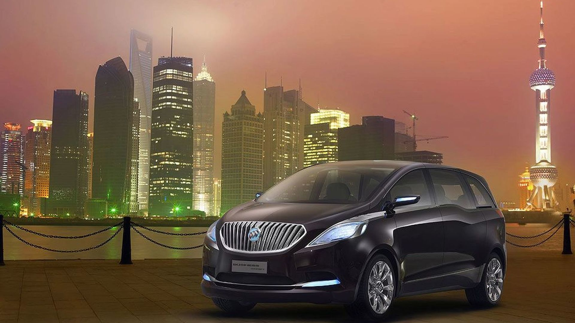 Buick Business MPV Concept Unveiled in Shanghai