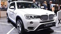 BMW X3 shows its new sharper face in Geneva