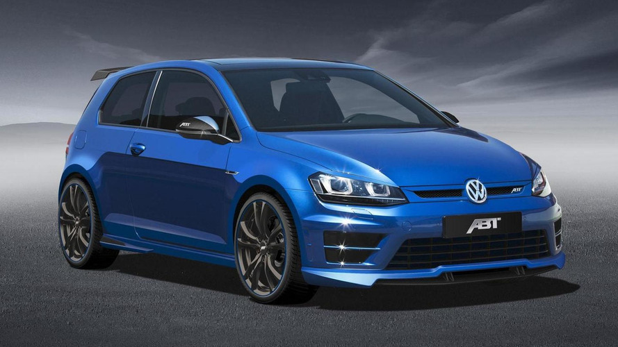 ABT Sportsline tunes the Volkswagen Golf R to 370 HP