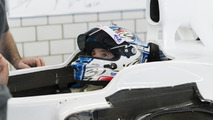 Sergey Sirotkin seat fitting at Sauber headquarters 21.08.2013