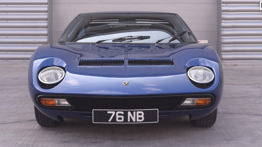 Lamborghini Miura originally owned by Rod Stewart
