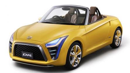 Daihatsu D-R concept showcased at Indonesian Motor Show