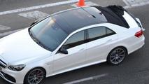 Mercedes E-Class Wagon facelift spy video
