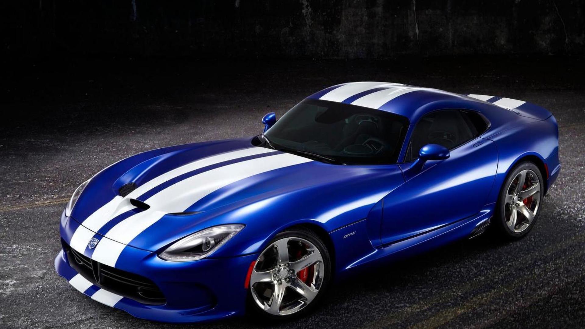 2013 SRT Viper GTS Launch Edition announced
