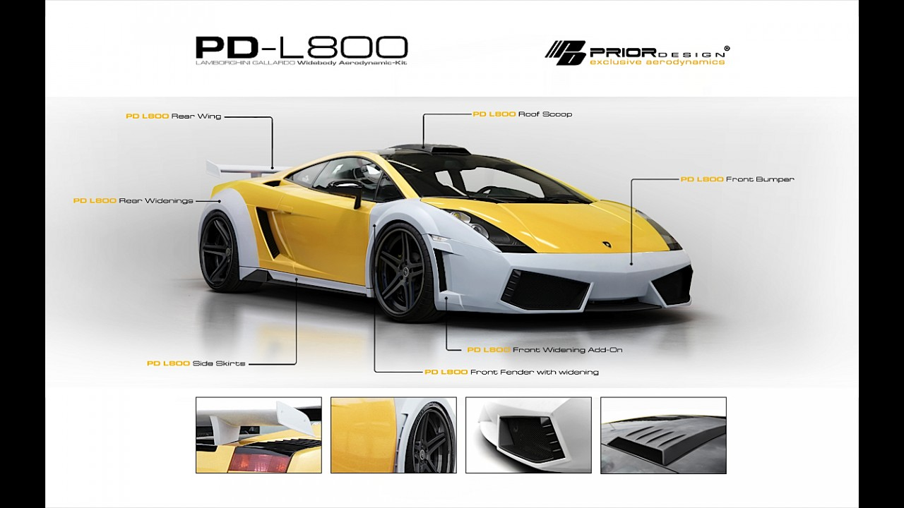 Prior Design Lamborghini Gallardo L800 Widebody