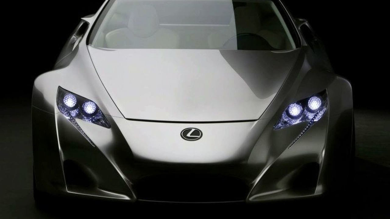 The Lexus LF-A Concept Presented Earlier in 2007