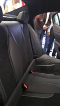 Alfa Romeo Giulia interior unofficial photo