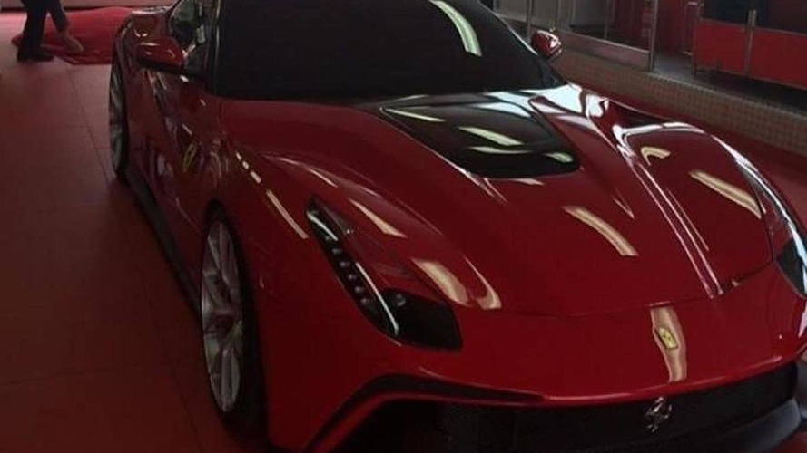 Ferrari F12 TRS one-off packs KERS and costs 4.2M USD