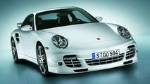 Porsche 911 Turbo Coupe with Aerodynamic Kit