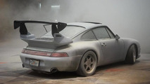 Porsche 993 Turbo fire