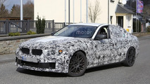 2017 BMW M5 spied with less disguise