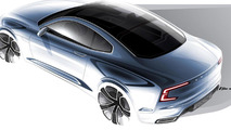 Volvo Concept Coupe production not approved yet. still a few years away