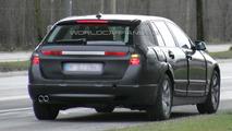 BMW 5-series Touring Prototype Spy Photo
