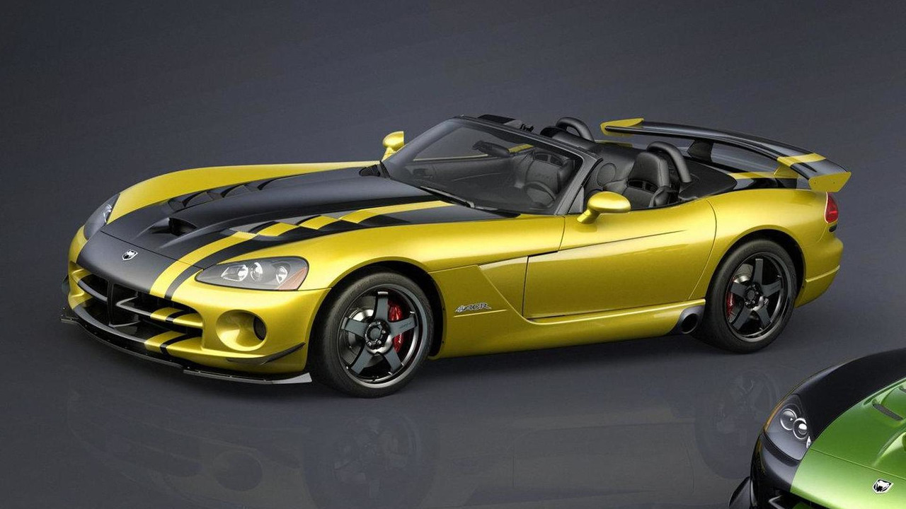 Dodge Viper SRT10 ACR Roadster, developed specifically with Woodhouse Dodge in Blair, Neb., featuring a Race Yellow Clear Coat exterior with yellow driver's stripe, 1248, 09.06.2010