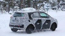Opel Meriva spy photo