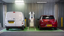 Nissan predicts more CV charging points than fuel stations by 2020