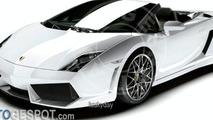 Artist impression: Lamborghini LP560-4 Spyder