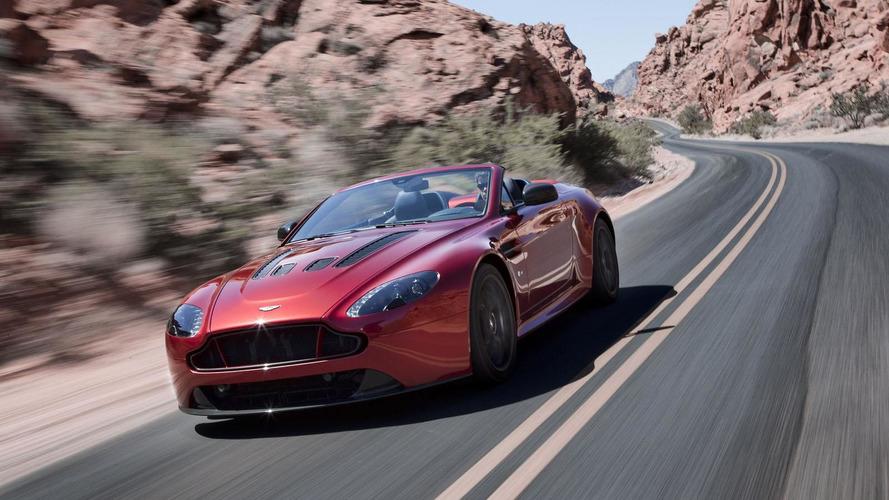 Aston Martin V12 Vantage S Roadster revealed
