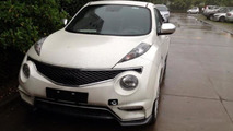 Infiniti ESQ spied without camouflage