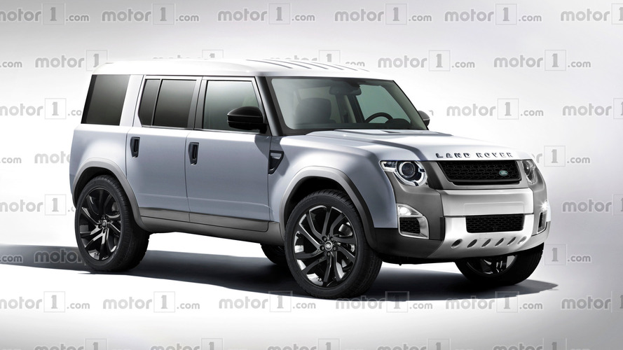 New Land Rover Defender exclusively rendered