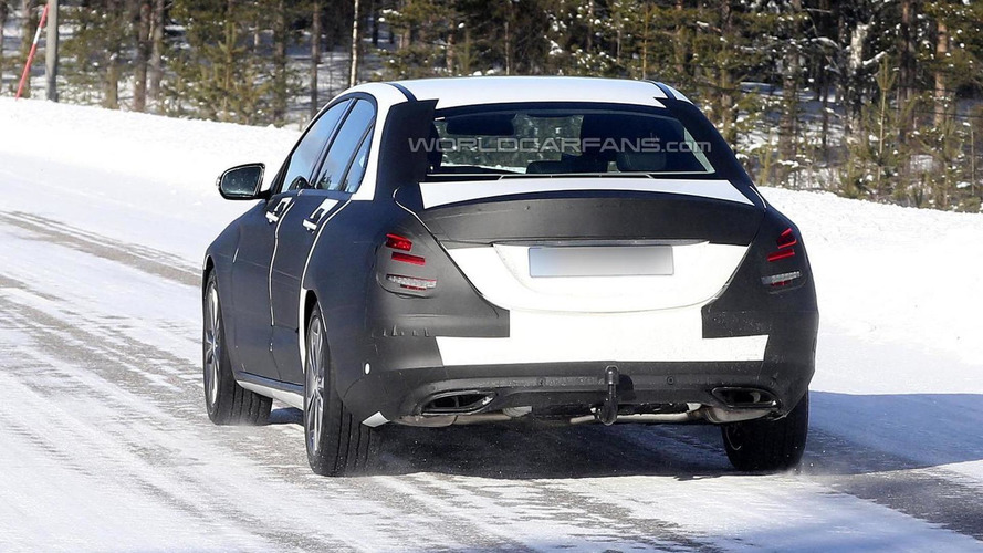 2014 Mercedes-Benz C-Class spotted near Stuttgart [videos]