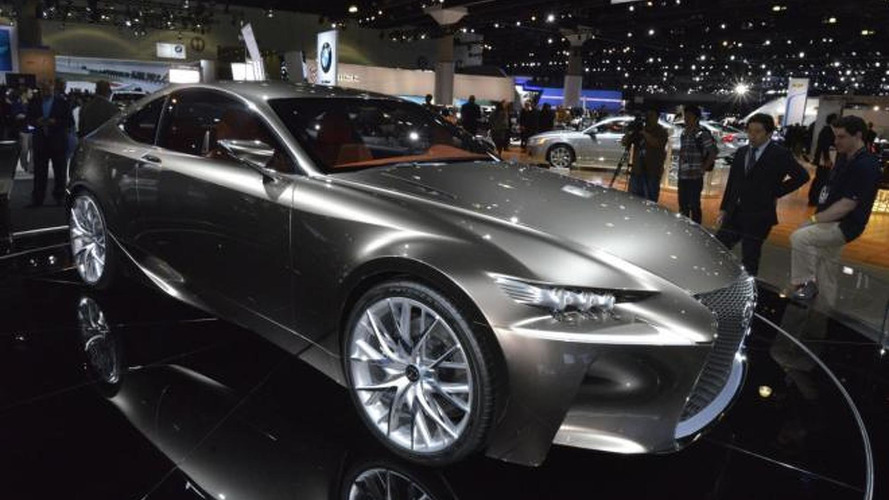 Lexus LF-CC confirmed for production, due in 2015