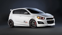 Chevrolet Sonic Z-Spec lineup for SEMA 25.10.2011