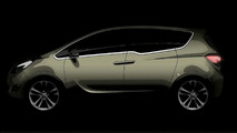 OFFICAL INFO: Opel Meriva Concept - World premiere: FlexDoors