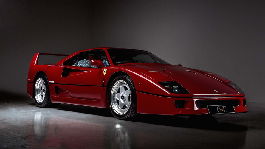 Eric Clapton's $1.5 million Ferrari F40 is your key to the highway