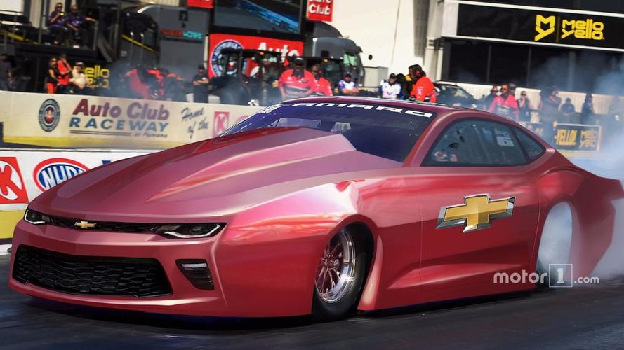 New Pro Stock Chevrolet Camaro SS ready to tear up the drag strip