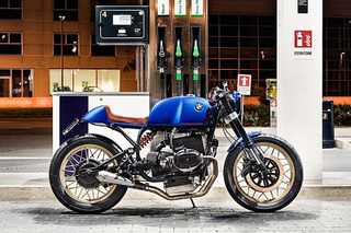 This Custom BMW R100RS Cafe Racer is Beautiful in Blue