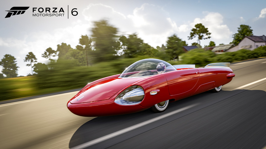 Forza 6 meets Fallout 4 with Chryslus Rocket '69 DLC