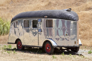 Charles Lindbergh's Strangely Wonderful 1939 Travel Trailer is Headed to Auction
